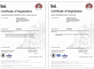 Cadsys is certified ISO 9001:2015 QMS and 27001:2013 ISMS company from BSI, UK.
