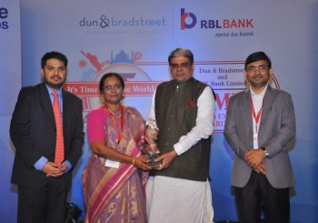 IT & ITES SME Business Excellence Award 2016 to CADSYS